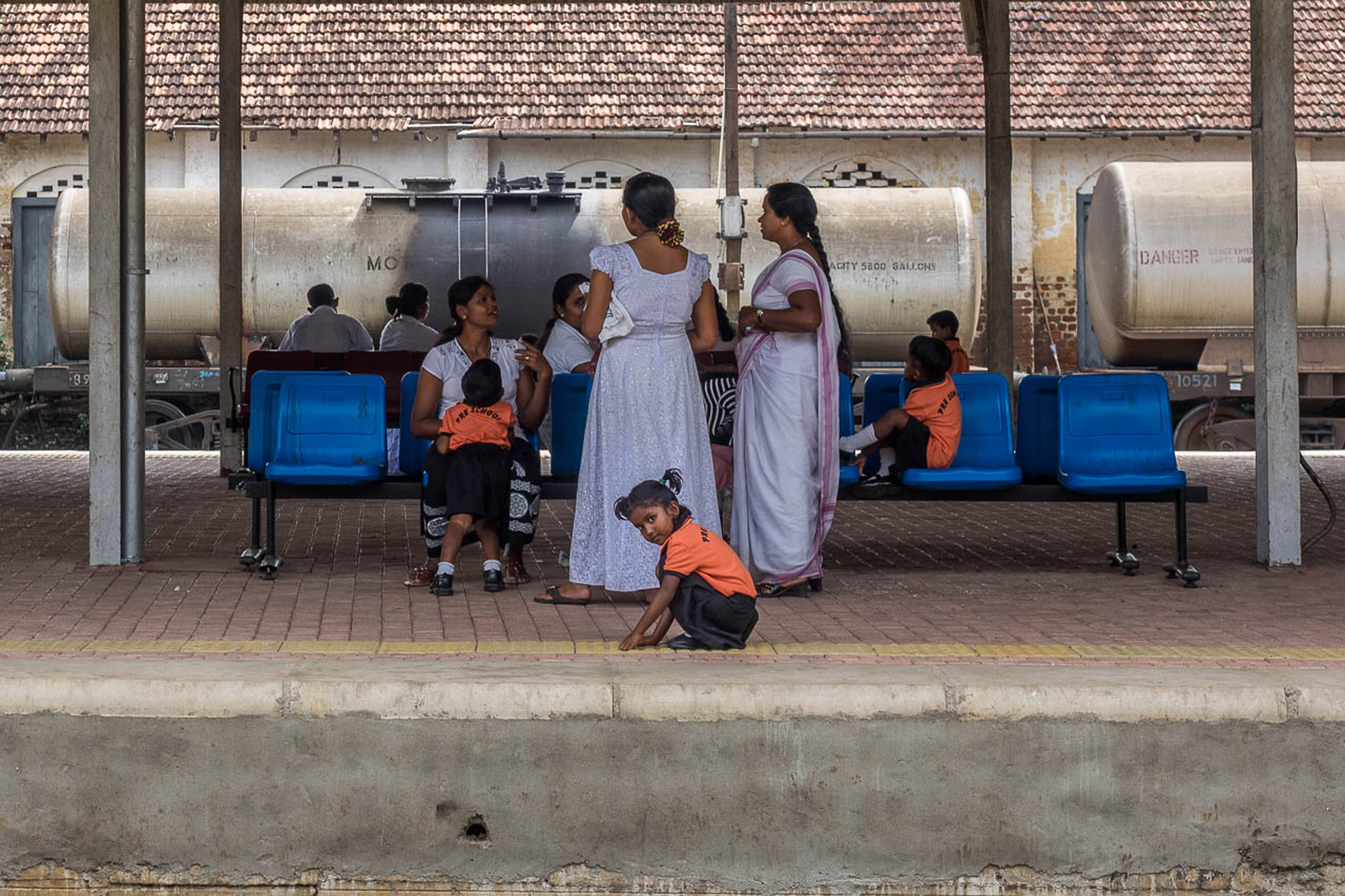 Waiting for the Train, Anuradhapura, Sri Lanka