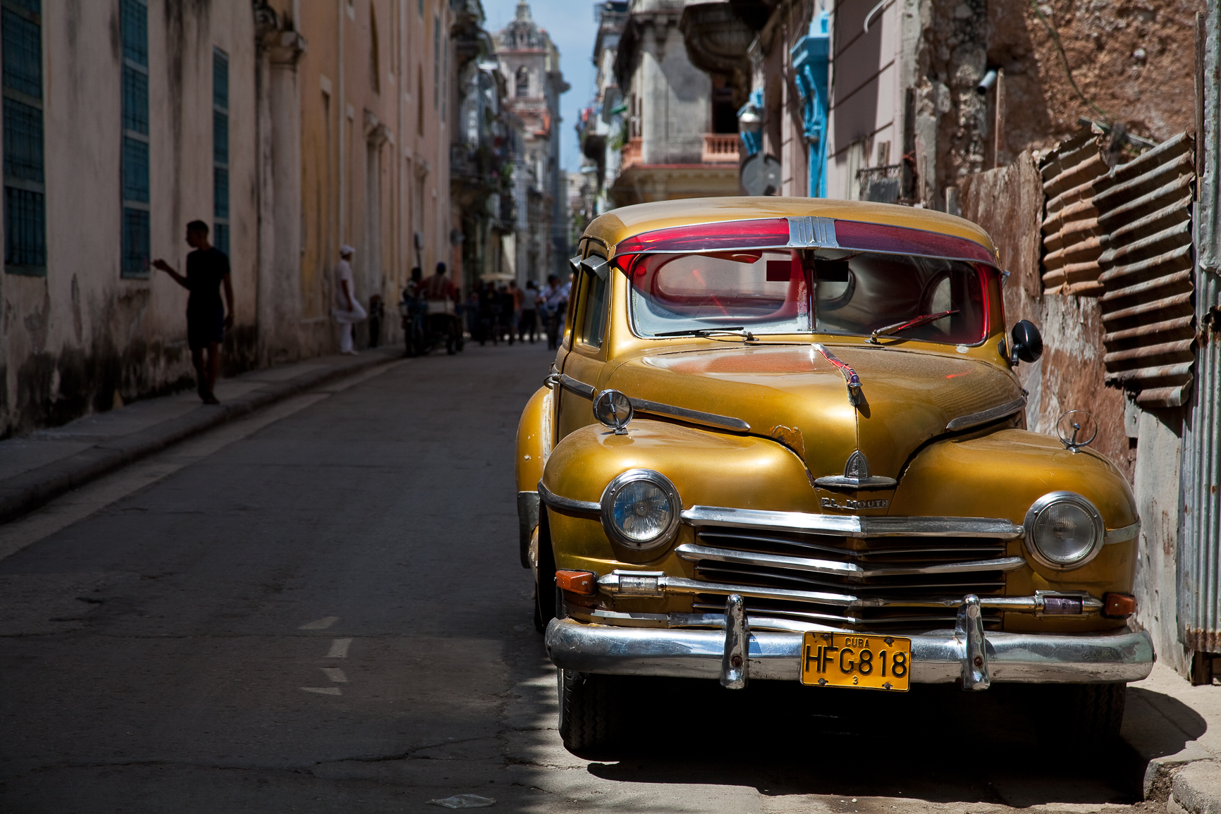 Shade and Sunshine, Havana, Cuba